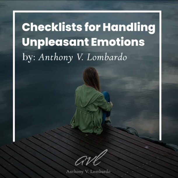 Checklists for Unpleasant Emotions